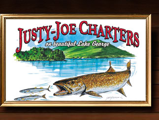 Happy Fishing Carter Customers on Lake George